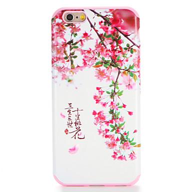 Für Apfel iphone 7 7plus Fallabdeckungsmuster rückseitige Abdeckungsfall Wort / Phrase Blume weiches tpu 6s plus 6 plus 6s 6