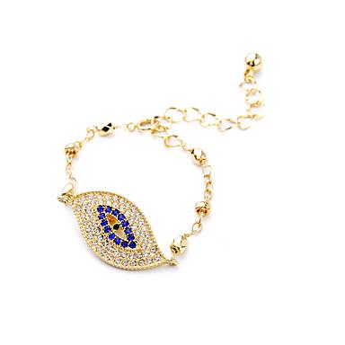 Kadın's Zincir & Halka Bileklikler Moda alaşım Leaf Shape Mücevher Uyumluluk Yılbaşı Hediyeleri