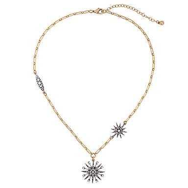 Damskie Naszyjniki z wisiorkami Kryształ Unikalny Osobiste euroamerykańskiej Silver Biżuteria Na Ślub Impreza 1szt