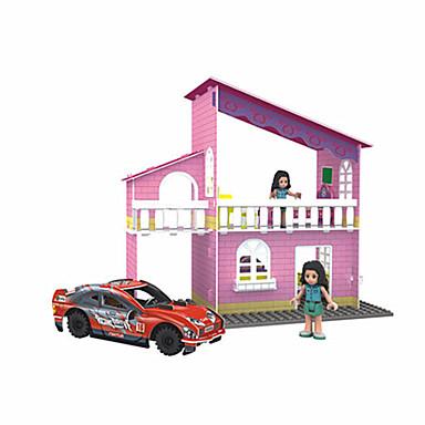 Legpuzzels 3D-puzzels Bouw blokken DHZ-speelgoed Hout Modelbouw & constructiespeelgoed