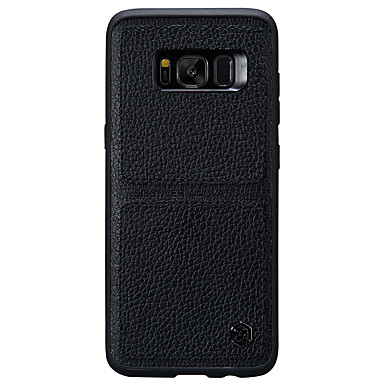 غطاء من أجل Samsung Galaxy S8 Plus S8 نحيف جداً مثلج غطاء خلفي لون الصلبة قاسي جلد أصلي إلى S8 Plus S8
