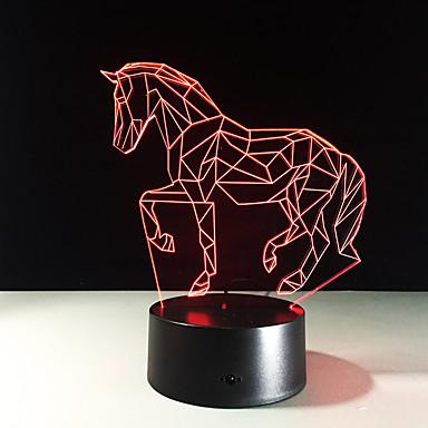 1 piesă Lumină de noapte Telecomandă Schimbare - Culoare Mărime Mică Vedere nocturnă control de la distanță 7-Color Teracotă