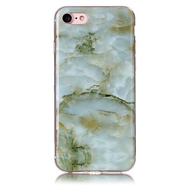 Hülle Für Apple iPhone 7 Plus iPhone 7 IMD Rückseite Marmor Weich TPU für iPhone 7 Plus iPhone 7 iPhone 6s Plus iPhone 6s iPhone 6 Plus