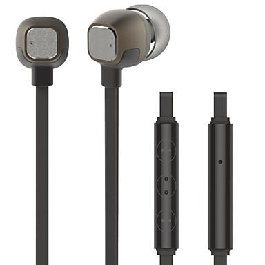 Hyundai Hy-1100 oortelefoon voor mobiele telefoon 3,5 mm in-ear bedraad met volumeknop en hi-fi microfoon