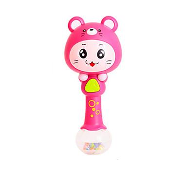 Baby-Rassel Bildungsspielsachen Zylinderförmig Kunststoff Kinder Unisex Geschenk