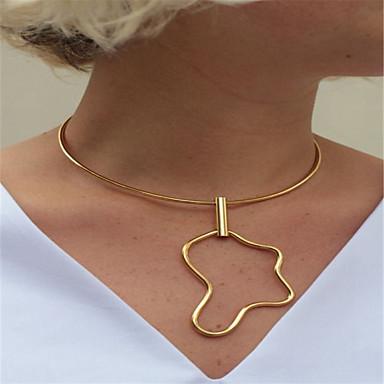 Γυναικεία Εξατομικευόμενο Κρεμαστό Μοντέρνα Euramerican Κολιέ Τσόκερ Κοσμήματα Χαλκός Κολιέ Τσόκερ , Καθημερινά Causal