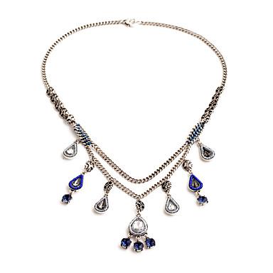 Kadın's Tellerinin Kolye Damla Kişiselleştirilmiş sevimli Stil Beyaz Mücevher Için 1pc