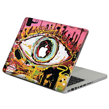1 szt. Naklejka na obudowę na Odporne na zadrapania Rysunek Wzorki PVC MacBook Pro 15'' with Retina MacBook Pro 15'' MacBook Pro 13''