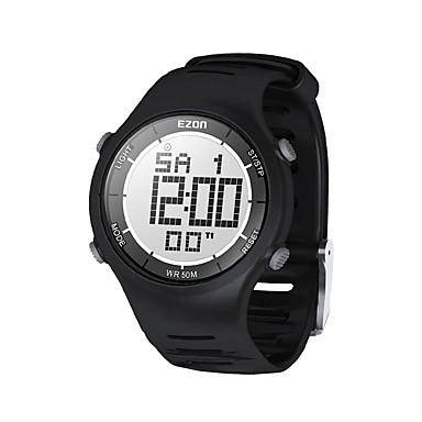 mężczyzna dorywczo mody zegarki cyfrowe 30m wodoodporny cyfrowy podwójny czas stopera zewnątrz sportowy zegarek ezon l008