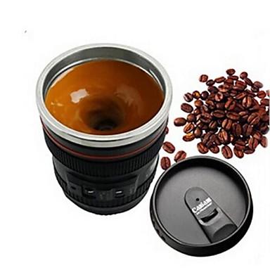 drinkware Paslanmaz Çelik Plastik Günlük Bardaklar Kahve Kupaları Dayanıklı Diğer Uygun 1pcs