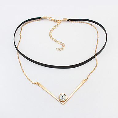 Pentru femei Coliere cu Pandativ Bijuterii Bijuterii Piatră Preţioasă Pană Aliaj La modă Personalizat Euramerican Bijuterii Pentru
