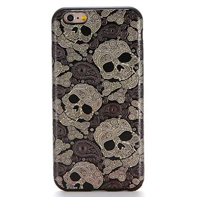 Maska Pentru Apple iPhone 7 Plus iPhone 7 Model Capac Spate Cranii Moale TPU pentru iPhone 7 Plus iPhone 7 iPhone 6s Plus iPhone 6s