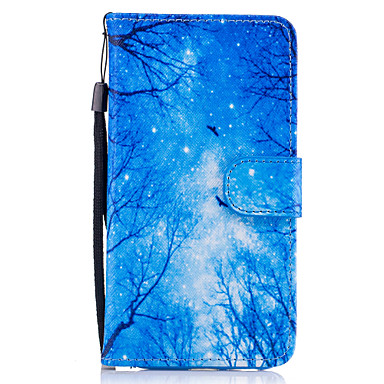 Pouzdro Uyumluluk Samsung Galaxy A5(2017) A3(2017) Kart Tutucu Cüzdan Satandlı Flip Manyetik Temalı Tam Kaplama Kılıf ağaç Sert PU Deri