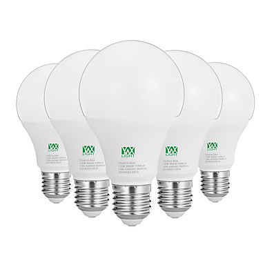 YWXLIGHT® 12W 1100-1200 lm E26/E27 مصابيح كروية LED 24 الأضواء SMD 2835 ديكور أبيض دافئ أبيض AC100-240