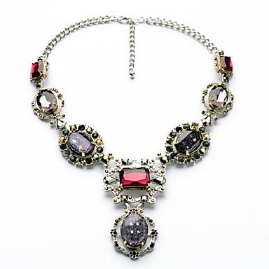 Damskie Pasemka Naszyjniki Geometric Shape Słodkie Style Chrismas Rainbow Biżuteria Na 1szt