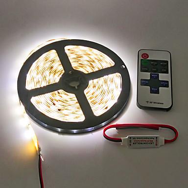 ZDM® Flexibele LED-verlichtingsstrips LEDs Warm wit Wit Groen Geel Blauw Rood Afstandsbediening Knipbaar Dimbaar Waterbestendig 100-240V