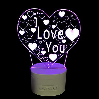 Φώς Νυκτός Επιτραπέζια Φωτιστικά LED-2W-USB Με ροοστάτη Αλλάζει Χρώμα με κέρατο - Με ροοστάτη Αλλάζει Χρώμα με κέρατο