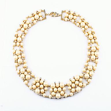 Pentru femei Toroane Coliere Round Shape Design Unic Alb Bijuterii Pentru Zilnic 1 buc