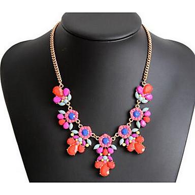 Pentru femei Coliere cu Pandativ Mai multe pietre Piatră Preţioasă La modă Euramerican Floral Bijuterii PentruPetrecere Ocazie specială