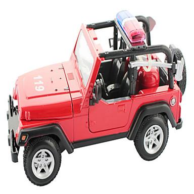 Aufziehbare Fahrzeuge Feuerwehrauto Spielzeuge Spielzeuge Metal Stücke Unisex Geschenk