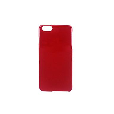 Pouzdro Uyumluluk Apple Buzlu Süslü Arka Kılıf Tek Renk Sert PC için iPhone 7 Plus iPhone 7 iPhone 6s Plus iPhone 6 Plus iPhone 6s iphone