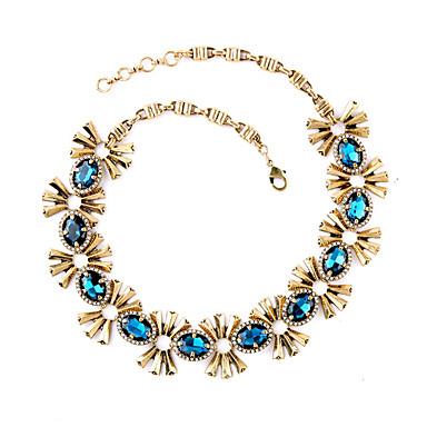 Γυναικεία Σκέλη Κολιέ Flower Shape Φιλία χαριτωμένο στυλ Μπλε Απαλό Κοσμήματα Για 1pc