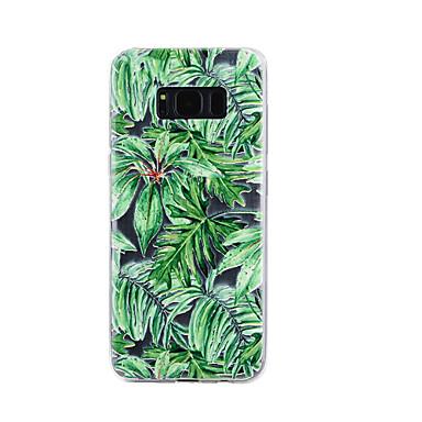 hoesje Voor Samsung Galaxy S8 Plus S8 Transparant Reliëfopdruk Patroon Achterkantje Bloem Zacht TPU voor S8 S8 Plus S7 edge S7 S5
