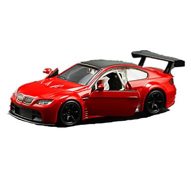 Modelauto Terugtrekvoertuigen Racewagen Speeltjes Muziek en licht Speeltjes Metaal Stuks Unisex Geschenk