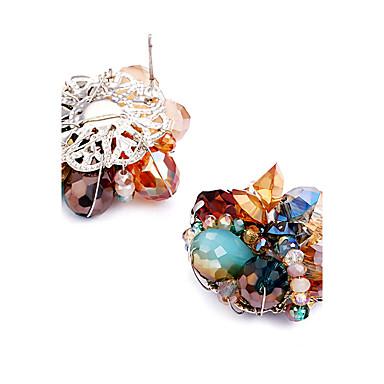 Kadın's Kristal Kişiselleştirilmiş Eşsiz Tasarım Euramerican alaşım Mücevher Düğün Parti Doğumgünü Hediye Kostüm takısı