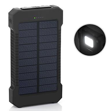 6000mAh teho pankki ulkoinen akku 5V 1.0A 2.0AA Akkulaturi Takulamppu Multi-Output Aurinkopaneelilataus Automaattinen virtasäätö Super