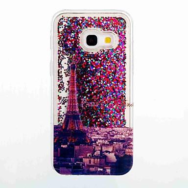 tok Για Samsung Galaxy A5(2017) A3(2017) Ρέον υγρό Με σχέδια Πίσω Κάλυμμα Πύργος του Άιφελ Μαλακή TPU για A3 (2017) A5 (2017) A5(2016)