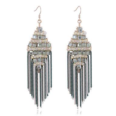 Γυναικεία Κουμπωτά Σκουλαρίκια Κρυστάλλινο Euramerican Εξατομικευόμενο Κράμα Κοσμήματα Για Γάμου Πάρτι Γενέθλια