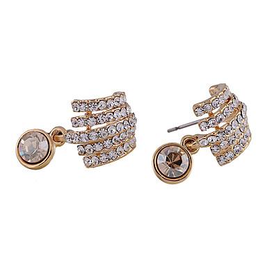 Damskie Kolczyki na sztyft Kryształ Osobiste euroamerykańskiej minimalistyczny styl Stop Biżuteria Na Ślub Impreza
