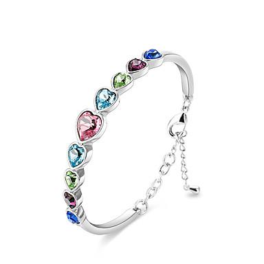 Pentru femei Brățări Bangle Cristal Natură Prietenie Bohemia Stil Hip-Hop film Bijuterii bijuterii de lux Plastic Cristal Circle Shape