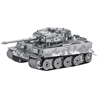 3D-puzzels Modelbouwsets Tank 3D DHZ Metaallegering Metaal