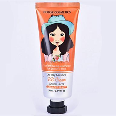 4 كريم الأساس BB Cream رطب الشفة تغطية كونسيلر طبيعي وجه