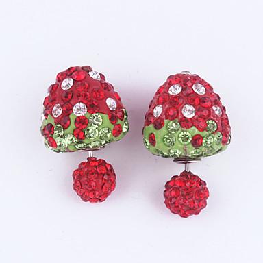 Γυναικεία Κουμπωτά Σκουλαρίκια Μοντέρνα Ακρυλικό Ρητίνη Κυκλικό Κοσμήματα Γενέθλια Καθημερινά Μπικίνι
