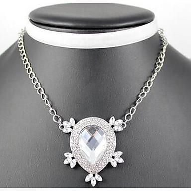 Kadın's Uçlu Kolyeler imitasyon Pırlanta Moda Euramerican Mücevher Uyumluluk Parti Özel Anlar Doğumgünü