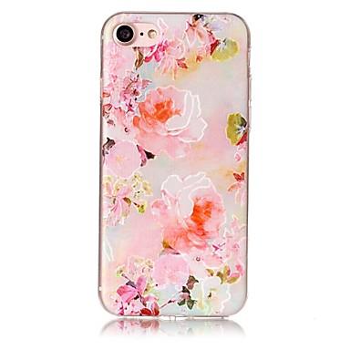 Dla jabłko iphone 7 7 plus 6s 6 plus se 5s 5 pokrowiec pokrowiec kwiatowy wzór malowany relief wysoki penetracja tpu materiał telefonu