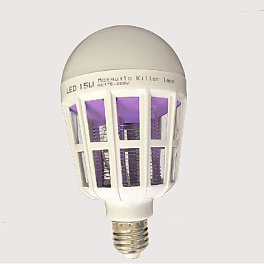 15W 120 lm E27 LED-bollampen leds Wit AC85-265 AC 220-240V