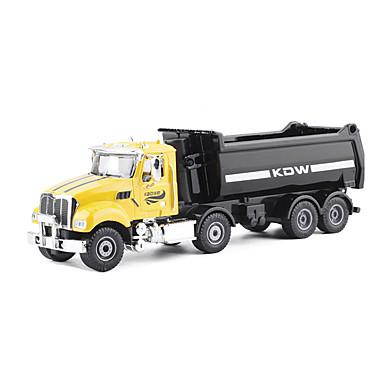 KDW Camion de gunoi Toy Trucks & Vehicule de constructii Jucării pentru mașini Vehicul cu Tragere 01:32 Metalic Plastic Unisex Pentru