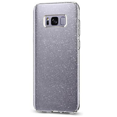 غطاء من أجل Samsung Galaxy S8 Plus S8 IMD غطاء خلفي بريق لماع ناعم TPU إلى S8 Plus S8