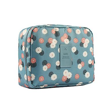 حقيبة أدوات تجميل للسفر حقيبة مستحضرات التجميل منظم أغراض السفر المحمول متعددة الوظائف تخزين السفر إلى ملابس نايلون / السفر