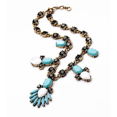 Pentru femei Toroane Coliere Cristal Adorabil Personalizat Cute Stil Euramerican Albastru Deschis Bijuterii Pentru Nuntă Petrecere
