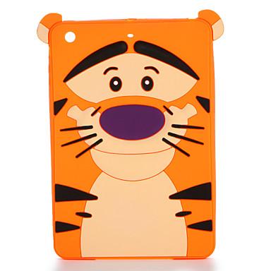 Voor apple ipad mini 123/4 case cover patroon achterkant behuizing 3d cartoon zachte silicone