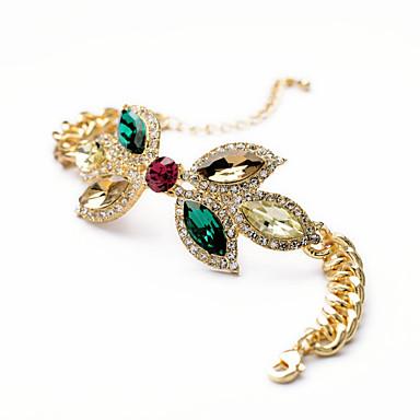 Kadın's Zincir & Halka Bileklikler Moda alaşım Flower Shape Mücevher Için Özel Anlar Yılbaşı Hediyeleri 1pc