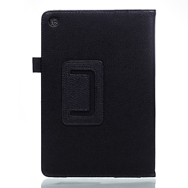 Maska Pentru Asus Carcasă Telefon Cazuri pentru tablete Culoare solidă Greu PU piele pentru