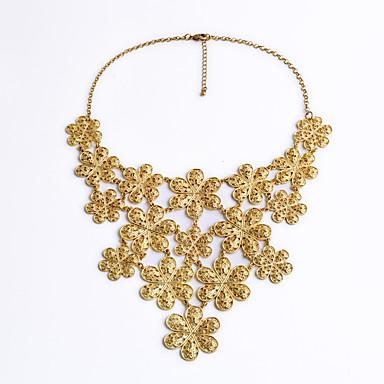 Kadın's Zincir Kolyeler Kristal Eşsiz Tasarım Moda Kişiselleştirilmiş Euramerican Mücevher Uyumluluk Düğün Parti
