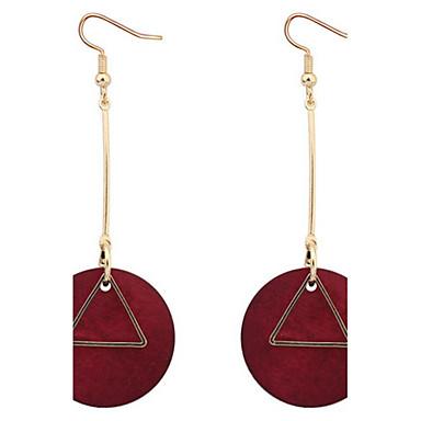 Damen Tropfen-Ohrringe Kreolen Schmuck Basis Einzigartiges Design Logo Stil Anhänger Stil Geometrisch Freundschaft Gothic Vintage Afrika