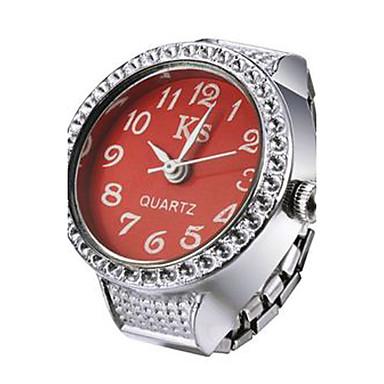ieftine Ceasuri Damă-Pentru femei Ceas inel Japoneză Quartz Argint Ceas Casual Analog femei Sclipici Modă - Mov Rosu Albastru Un an Durată de Viaţă Baterie / SSUO LR626